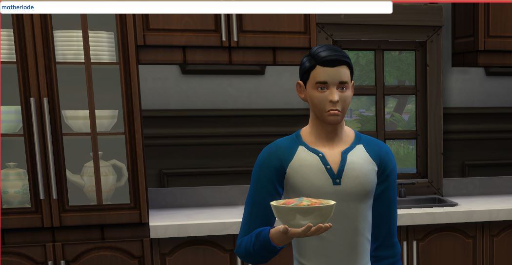 how to get motherlode cheat on sims 4